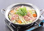 鶏と水菜鍋